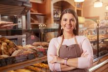 Cheerful Female Entrepreneur S...