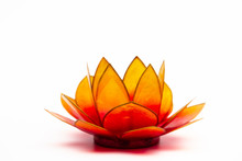 Lotus Flower Shape Candle Holder