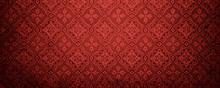Red Wallpaper Pattern.