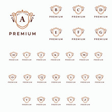 Luxury Premium A-Z Initial Log...