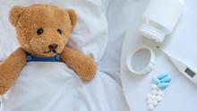 The Sad Teddy Bear Had A Heada...