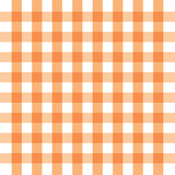 Checkered orange and white check pattern background,vector illustration - 309528109