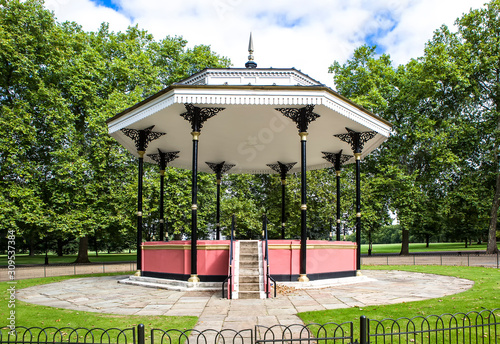 Photo The Bandstand in Londons Hyde Park