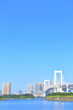 Odaiba Kaihin-Koen, Famous place, Clear