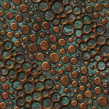 Copper Seamless Texture With D...