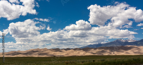 Senic view in Great Sand Dunes National Park in Colorado, USA