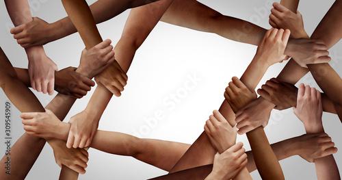 Fototapeta Business  Team Diversity obraz