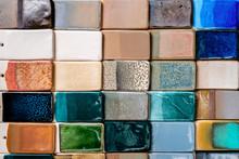 Ceramic Multicolor Tiles, Geom...