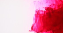 Experimental Red Ink Spinning ...