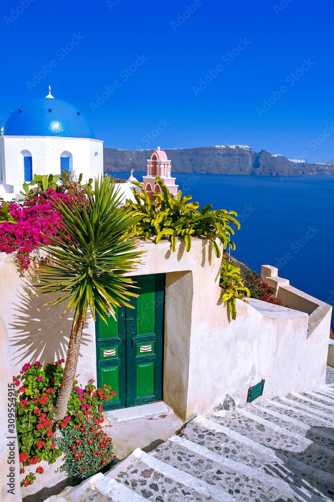 Fototapeta Oia,  Santorini, Cyclades, greece