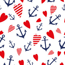 Sea Marine Seamless Patterns A...