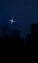 Christmas Star Just Above The ...