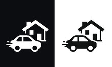 Grocery Delivery Vector Design...