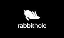 Rabbit Hole Animal Logo Design Concept