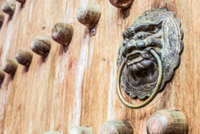 Traditional Chinese Old Door K...