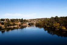 Lake Natoma And Rainbow Bridge Folsom California