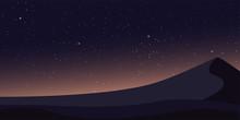Colorful Night Sky Pyramids. P...
