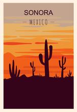 Sonora Retro Poster. Sonora Tr...