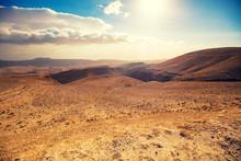 Mountainous Desert With A Beau...
