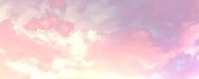 Beatiful Sky With Clouds Artis...
