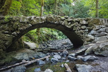Stone Bridge In Council Crest ...