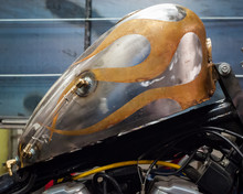 Custom Motorcycle Gas Tank