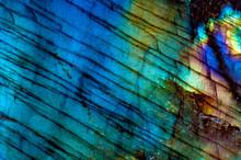 Macro Mineral Gemstone Labrado...