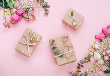 Craft Paper Wrapping Gift Boxe...
