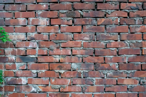 sloppy brick wall