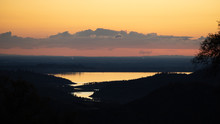 Sunset In The Sierra Foothills...