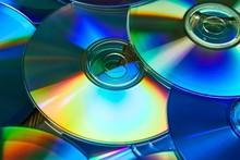 CD Copmact Discs In A Pile Mak...
