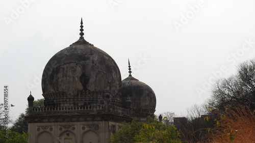 Photo The Qutb Shahi Tombs are located in Hyderabad and they contain the tombs and mosques built by the various kings of the Qutb Shahi dynasty