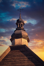 Wooden Orthodox Church In The ...