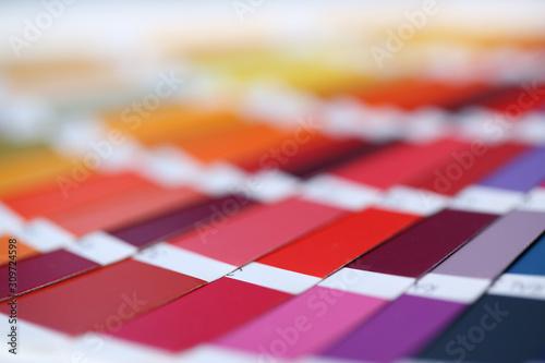 Fotomural Color print of pantone statistics offset