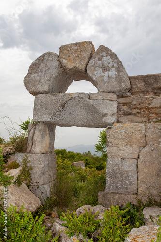 Valokuvatapetti Monastery of St. Simeon near Antakya, Hatay, Turkey
