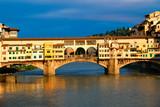 The ponte vecchio , Florence