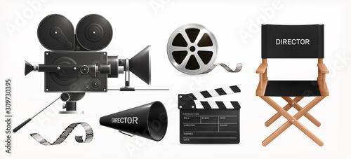 Fényképezés Cinema Film Production Set