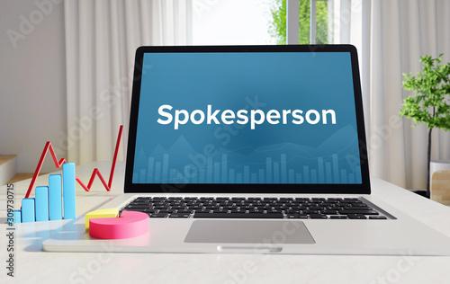 Spokesperson – Statistics/Business Wallpaper Mural