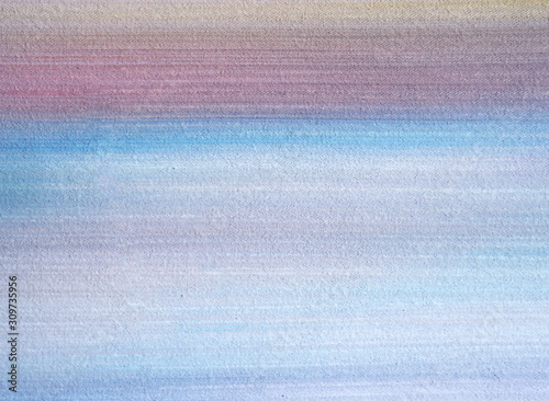 Fototapeta Watercolor painting on paper abstract background with texture  obraz