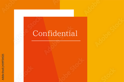 Confidential Canvas Print