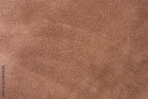 Fotomural Texture of backside of brown toned leather