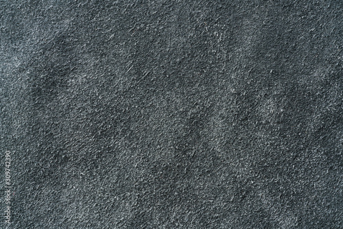 Photo Texture of backside of black toned leather