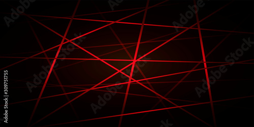 Photo abstract red line background