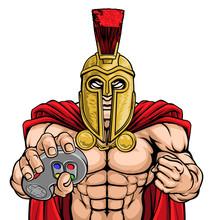 A Spartan Or Trojan Warrior Or...