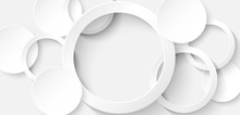 Abstract. Circle White Backgro...