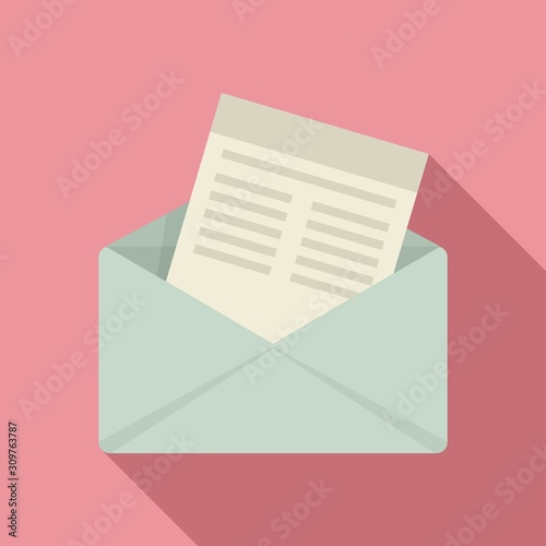 Fotomural Mail invitation icon