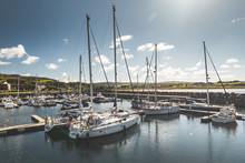Numerous Yachts At Northern Ir...