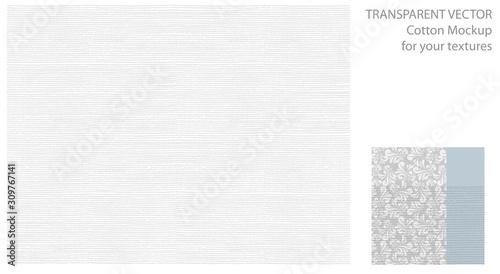 Fotografie, Obraz Light pattern with cotton or linen texture