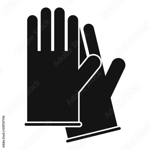 Valokuva Medical gloves icon