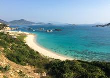 Seascape Of Mui Ne Town In Phan Thiet, Vietnam
